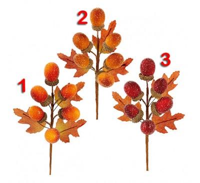 Acorn Pick  Brown/Orange/Burgundy