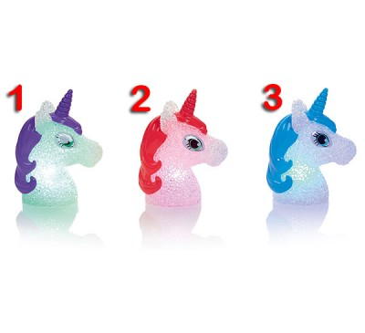 13cm Unicorn Head EVA Light which changes colour 3 to choose from