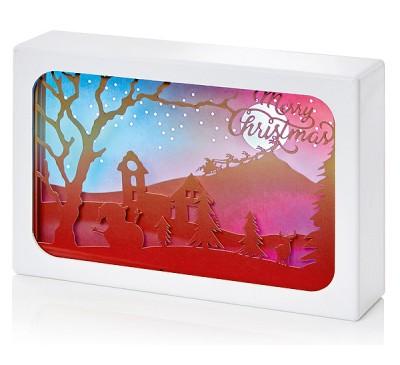 16x11cm Diorama Merry Christmas