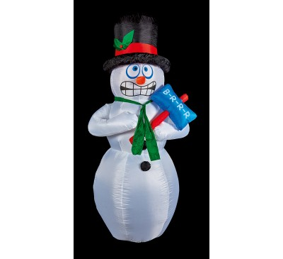 2.1M Inflatable Shivering Snowman