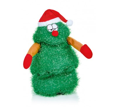 28cm Battery Operated  Singing Norbert Tree