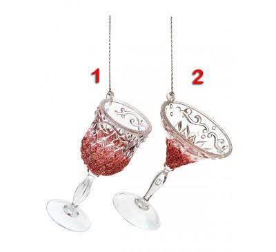 Wine Glass Dec Red