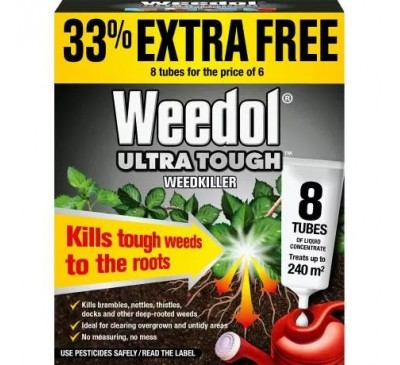 Weedol Ultra Tough 6+2 Tubes