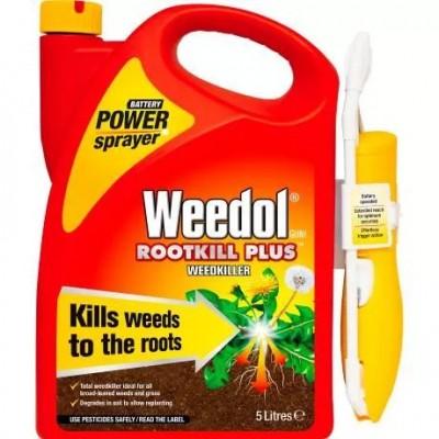 Weedol Rootkill Plus Power Sprayer 5ltr