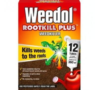 Weedol Rootkill Plus 12 Tubes