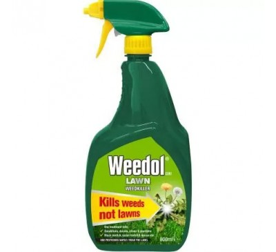 Weedol Gun! Lawn Weed killer 800ml + 25% Free