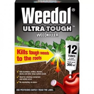 Weedol Ultra Tough 12 Tubes