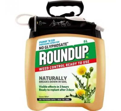 Roundup Natural Weed Control 5ltr