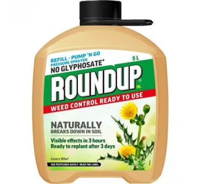 Roundup Natural Weed Control Refill  5ltr
