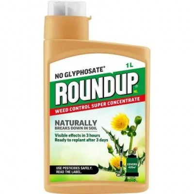 Roundup Natural Weed Control Concentrate 140ml