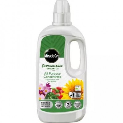Miracle-Gro Performance All Purpose Organic Plant Feed 1ltr