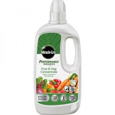 Miracle-Gro Performance Organic Fruit & Veg Plant Feed 1ltr