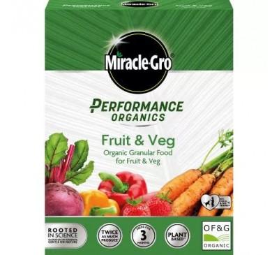 Miracle-Gro Performance Organic Fruit & Veg Plant Feed 1kg