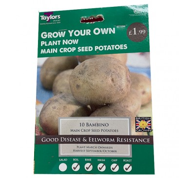 Taster Packs Bambino Potatoes NOW HALF PRICE