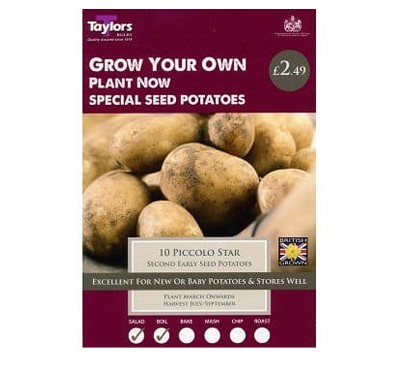 Taster Packs  Piccolo Star Potatoes