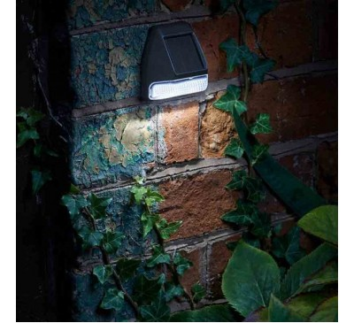 Solar Wall, Fence & Post Light 4 Pack 3L