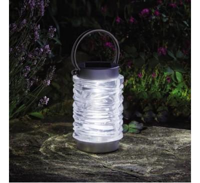 Wave Lantern - Stanless Steel Solar Light 10L