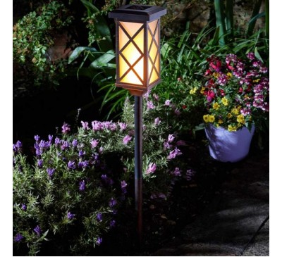 Arezzo Flaming Solar Torch