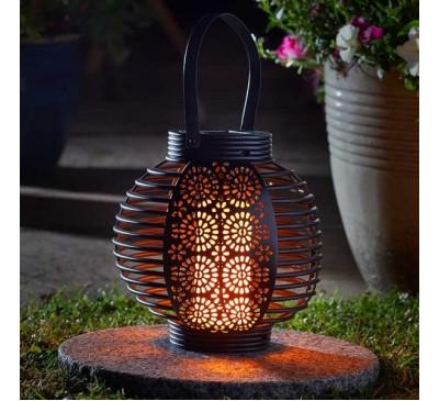 Ferrara Flaming Solar Lantern