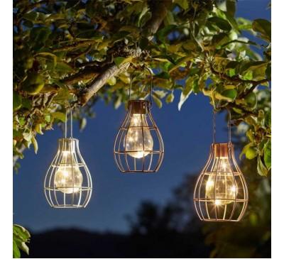 Solar Eureka! Firefly Lantern 3 colours