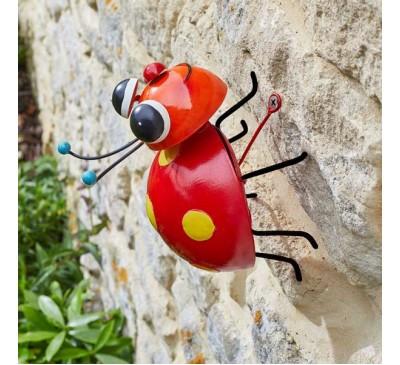 Hanging on Loony Ladybug
