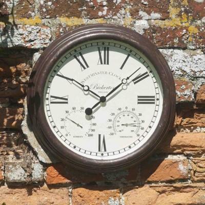 Bickerton Clock & Thermometer 15 inch