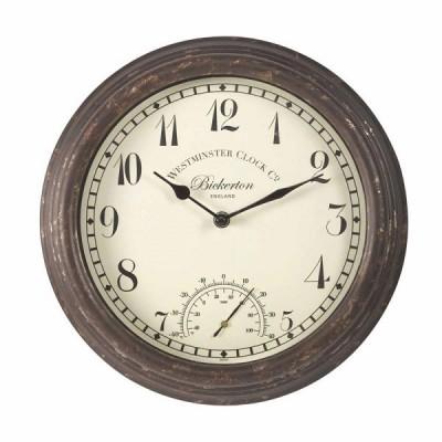 Bickerton Clock & Thermometer 12 inch