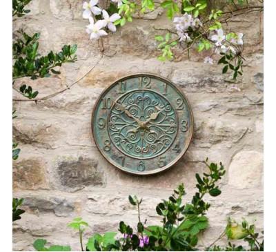 Verdant Wall Clock 12 inch