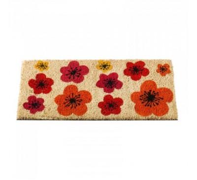 Flower Power 23 x 53 cm Door Mat