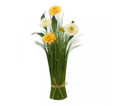 Faux Bouquet - Mellow Yellow 40 cm