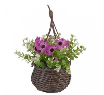 Basket Bouquets - Meadow Purple