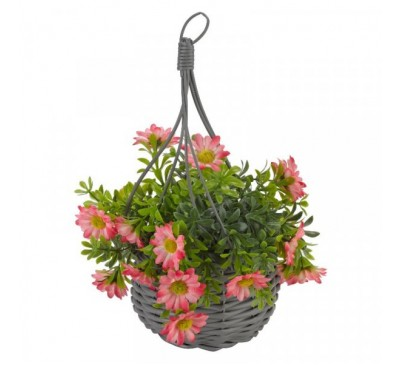 Basket Bouquets - Meadow Pink