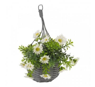 Basket Bouquets - Meadow White