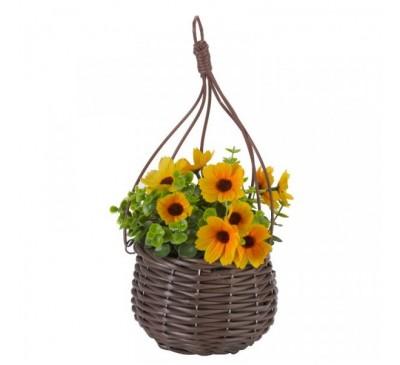Basket Bouquets - Meadow Yellow