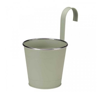 6 inch Fence & Balcony Hanging Pot - Sage