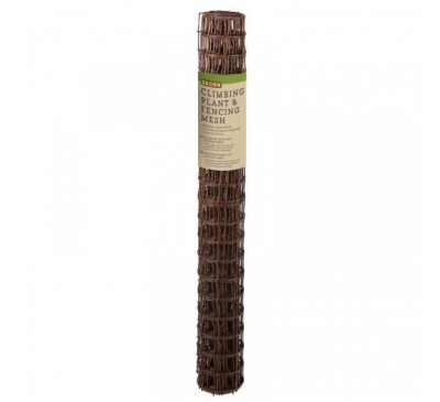 Climbing Plant & Fencing Mesh - Brown 50mm Mesh 1 x 5m
