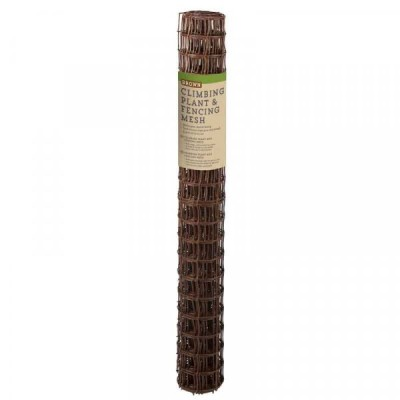 Climbing Plant & Fencing Mesh - Brown 50mm Mesh 1 x 5m