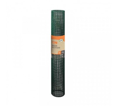 General Purpose Garden Mesh - Green 20mm Mesh 1 x 5m