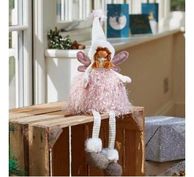 Seated Ophelia Fairy Princess Figure