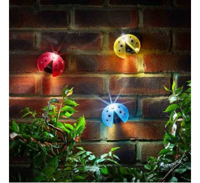 Smart Solar Ladybird Light