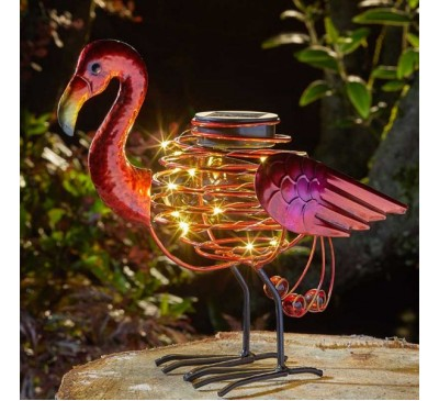 Smart Solar Flamingo Spiralight