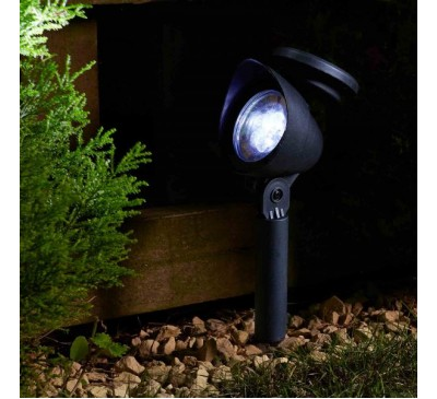 Smart Solar Super Bright Prima Garden Spotlights 4pk