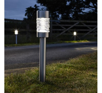 Smart Solar Super Bright Martello Stake Lights 3pk