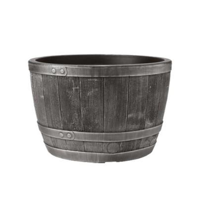 40cm Blenheim Half Barrel Pewter