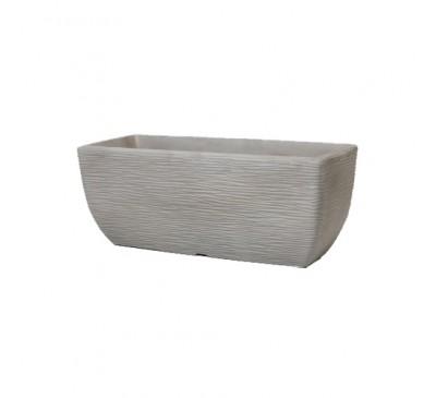 60cm Cotswold Trough Planter Limestone Grey