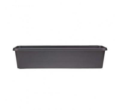 60cm Terrace Trough Black
