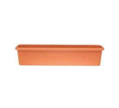 60cm Terrace Trough Terracotta