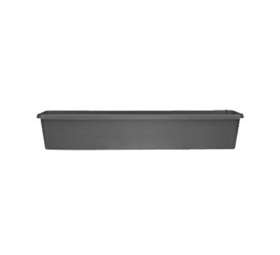 80cm Terrace Trough Black