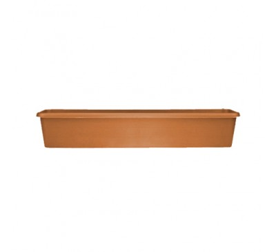 80cm Terrace Trough Terracotta