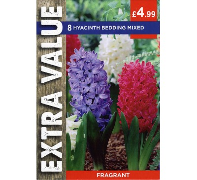 Extra Value Hyacinths Bedding Mixed